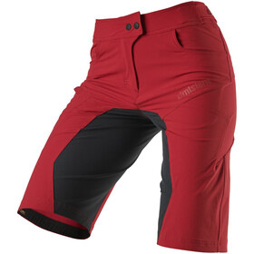 Zimtstern Taila Evo Shorts Dames, jester red/pirate black